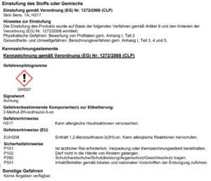 kennzeichnung lugato pro grundierung